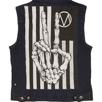 Glamour Kills - Girls GK X THE MAINE DENIM VEST