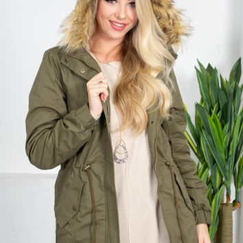 Winter Storms Drawstring Jacket | Color