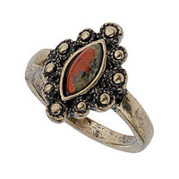 Indian style stone ring - Fashion Jewelry  - Accessories