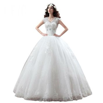Princess Wedding Dress Bridal Gowns Lace Up