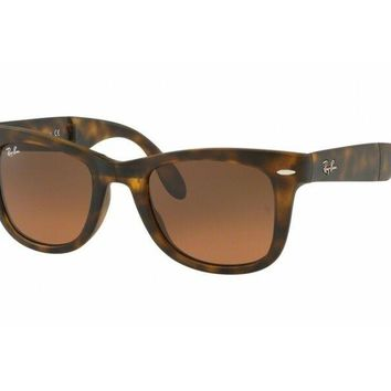 sunglasses Ray Ban FOLDING WAYFARER RB4105 havana brown 894/43