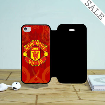 Red Devil Manchester United iPhone 4 |4S Flip Case