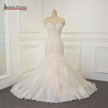 Customer order Mermaid Lace Wedding Dress