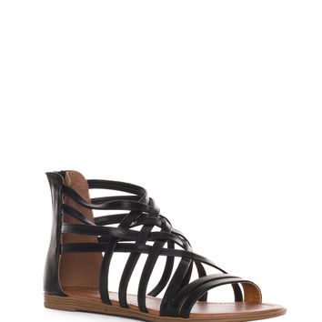 Always Gladiator Sandals - Black