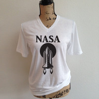 nasa, space, astronaut, nasa shirt, jpl, shirt, nasa logo, tumblr shirt, trending, rocket, rocket ship, outer space