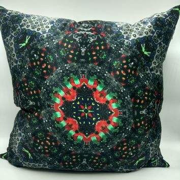 Silk Satin 16mm Pillow Cover 2 - 24x24 Inches