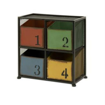 Storage Box - Numbered Bins