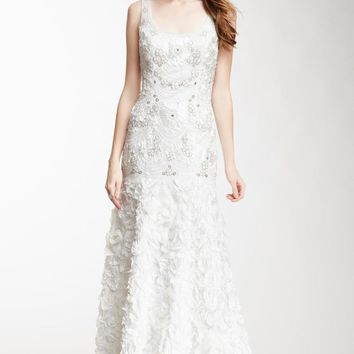 Sue Wong - Embellished Trumpet Gown W2505