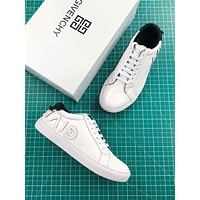 Givenchy Reverse Letters Low Top Sneaker White Black
