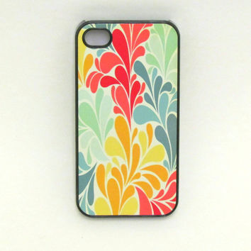 Iphone 4 Case Beautiful Flower Pattern Iphone by fundakcases