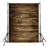 3x5ft Dark Wood Floor Photography Background For Studio Photo Props Vinyl Photographic Backdrops Cloth 90 cmx 150cm