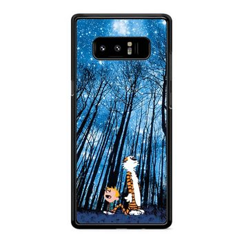 Calvin And Hobbes Galaxy Samsung Galaxy Note 8 Case
