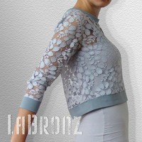 Lace Top by LaBronz on Etsy
