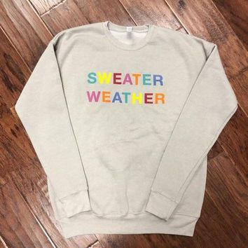 Sweater Weather Fleece Lined Sweatshirt {H. Stone}