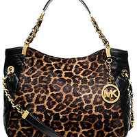MICHAEL Michael Kors Handbag, Susannah Medium Haircalf Shoulder Tote - Shoulder Bags - Handbags & Accessories - Macy's