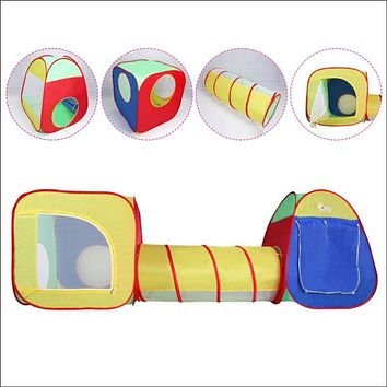 Kids Baby Play Tent Tunnel House