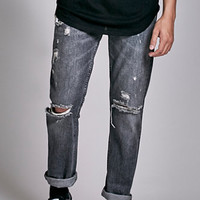 Levi's 511 Slim Fit Destroyed Antique Rust Jeans at PacSun.com