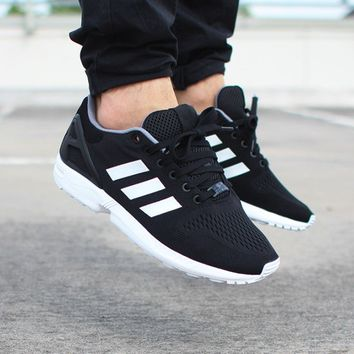 ADIDAS ZX FLUX (CORE BLACK / FTWR WHITE / CORE BLACK)