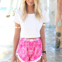 Mandala Shorts | SABO SKIRT
