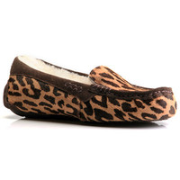 UGG Australia Ansley Slipper Cheetah Printed Haircalf