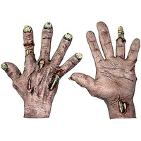 Zombie Flesh Hands - Spirithalloween.com