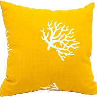Majestic Home Goods Coral Extra Large Pillow