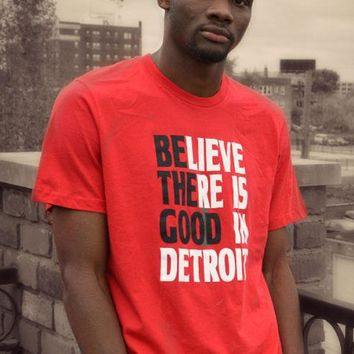 Detroit Respect Be the Good Tee - Red