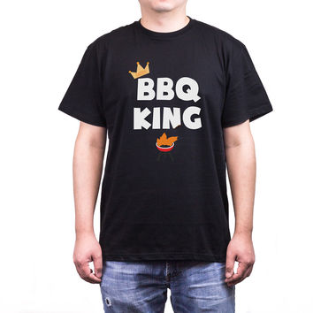 Bbq King Daddy Men's T-Shirt