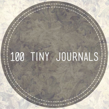 Wedding Favors: 100 Tiny Journals, Unique, Party Favors, Custom Colors, Jotters, Mini Notebooks, Small Journals - 100 ct