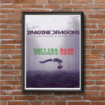 Imagine Dragons cover Photo Poster 16x20 18x24