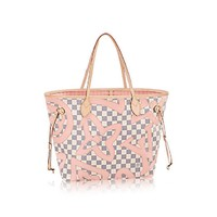 "Louis Vuitton Limited Edition Neverfull Mm 4523 ""NWT"" (Authentic Pre-owned)"
