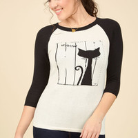 Right Off the Cat Sweater | Mod Retro Vintage Sweaters | ModCloth.com