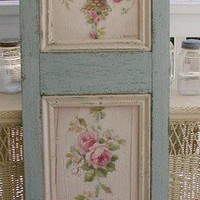 My love of shabby chic/country