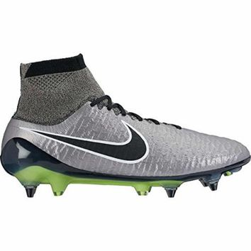 DCCK8BW nike magista obra SG-PRO mens football boots 641325 soccer cleats (US 8.5 metallic pewter black white black 010)