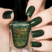 Fun Lacquer Green Foliage Nail Polish (Summer 2015 Collection)