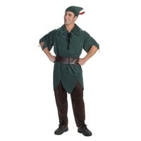 Disney Peter Pan Costume - Adult (Green)