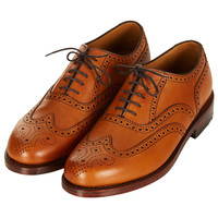 Traditional Brogues by LOAKE for Topshop - View All - Shoes - Topshop