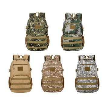 20-35L Outdoor Sports Camo Military Tactical Backpack Unisex Large Hiking Camping Travel Bag Stuff Storage Sack for Men bolsa