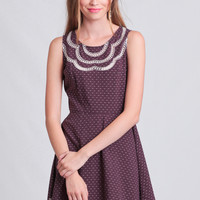 Sweet As Sugar Embroidered Dress