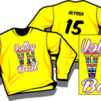 AZTEC VB - Volleyball Long Sleeve T-shirt