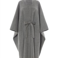 Double-Faced Herringbone Cape | Womens Clothing | Jaeger