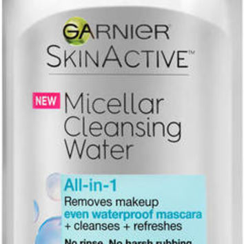 Garnier® SKINACTIVE™ Micellar Cleansing Water All-in-1 Waterproof Makeup Remover & Cleanser 13.5 Fl Oz