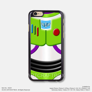 Buzz Lightyear Toy Story iPhone Case Black Hard case 241