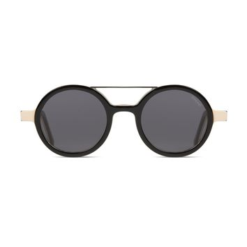 Komono - The Vivien Acetate Black Forest Sunglasses / CR 39 Lenses