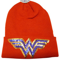 Wonder Woman Hat  - Beanie