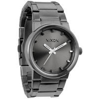 Nixon The Cannon Watch All Gunmetal One Size For Men 20297511201