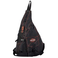 Harley-Davidson Womens Rally Sling Backpack RL7231S-ORGBLK