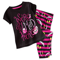 Genuine Disney Store Alice In Wonderland Cheshire Cat Sleep Set Girl Size:3
