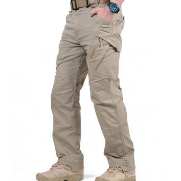 Tactical Cargo Pants Men Combat SWAT Army Military Pants Cotton Many Pockets Stretch Paintball Man Casual Trousers XXXL