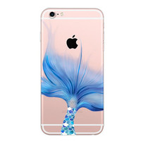 Cute Mermaid Case for iPhone 6 6s 7 plus